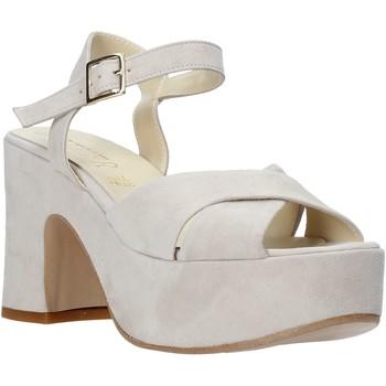 Παπούτσια Γυναίκα Σανδάλια / Πέδιλα Esther Collezioni RM133 Γκρί