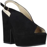 Παπούτσια Γυναίκα Σανδάλια / Πέδιλα Esther Collezioni ALBA 107 Μαύρος