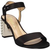 Παπούτσια Γυναίκα Σανδάλια / Πέδιλα Grace Shoes 1490 Μαύρος
