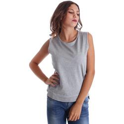 Υφασμάτινα Γυναίκα Αμάνικα / T-shirts χωρίς μανίκια Fornarina BE17T524F42990 Γκρί