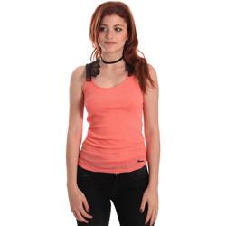 Υφασμάτινα Γυναίκα Αμάνικα / T-shirts χωρίς μανίκια Fornarina BE175J75H26368 Πορτοκάλι