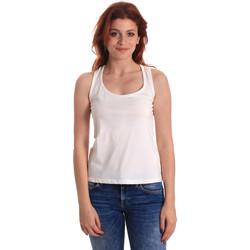 Υφασμάτινα Γυναίκα Αμάνικα / T-shirts χωρίς μανίκια Fornarina BE175L04JG0709 λευκό