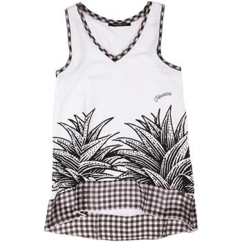 Υφασμάτινα Γυναίκα Αμάνικα / T-shirts χωρίς μανίκια Fornarina BERT484JF7409 λευκό