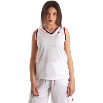 Υφασμάτινα Γυναίκα Αμάνικα / T-shirts χωρίς μανίκια Champion 111382 λευκό