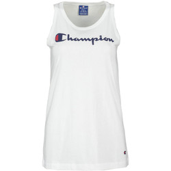 Υφασμάτινα Γυναίκα Αμάνικα / T-shirts χωρίς μανίκια Champion 111791 λευκό