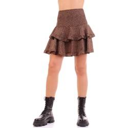 Υφασμάτινα Γυναίκα Φούστες Vicolo TW0723 Marrone