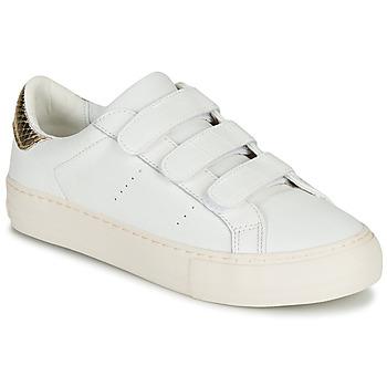 Xαμηλά Sneakers No Name ARCADE STRAPS ΣΤΕΛΕΧΟΣ: Δέρμα και συνθετικό & ΕΠΕΝΔΥΣΗ: Φυσικό ύφασμα & ΕΣ. ΣΟΛΑ: Φυσικό ύφασμα & ΕΞ. ΣΟΛΑ: Καουτσούκ