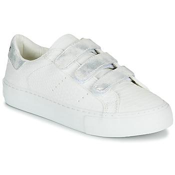 Παπούτσια Γυναίκα Χαμηλά Sneakers No Name ARCADE STRAPS Άσπρο / Argenté