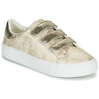 Παπούτσια Γυναίκα Χαμηλά Sneakers No Name ARCADE STRAPS Gold