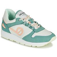 Παπούτσια Γυναίκα Χαμηλά Sneakers No Name CITY OPEN Green / Ροζ