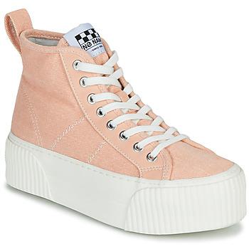 Παπούτσια Γυναίκα Ψηλά Sneakers No Name IRON MID Ροζ