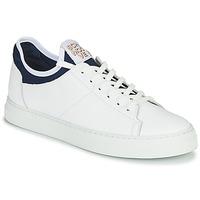 Παπούτσια Άνδρας Χαμηλά Sneakers Schmoove SPARK NEO Άσπρο / Μπλέ