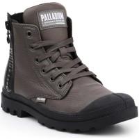 Παπούτσια Γυναίκα Ψηλά Sneakers Palladium Pampa UBN ZIPS 96857-213-M brown