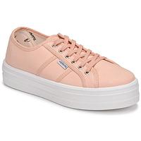 Παπούτσια Γυναίκα Χαμηλά Sneakers Victoria BARCELONA LONA Ροζ