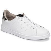 Παπούτσια Γυναίκα Χαμηλά Sneakers Victoria TENIS VEGANA SERPIENTE Άσπρο / Black