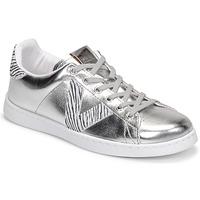 Παπούτσια Γυναίκα Χαμηλά Sneakers Victoria TENIS METALIZADO Silver
