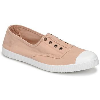 Παπούτσια Γυναίκα Χαμηλά Sneakers Victoria INGLESA ELASTICO Beige