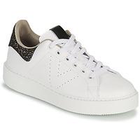 Παπούτσια Γυναίκα Χαμηλά Sneakers Victoria UTOPIA GLITTER Άσπρο / Brown