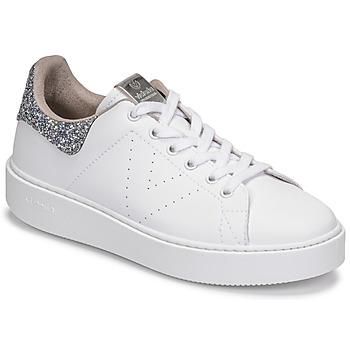 Παπούτσια Γυναίκα Χαμηλά Sneakers Victoria UTOPIA GLITTER Άσπρο / Silver