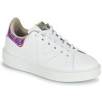 Παπούτσια Γυναίκα Χαμηλά Sneakers Victoria UTOPIA HOLOG Άσπρο