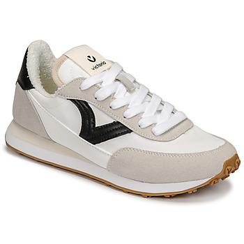 Παπούτσια Γυναίκα Χαμηλά Sneakers Victoria ASTRO NYLON Άσπρο / Black