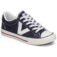 Παπούτσια Χαμηλά Sneakers Victoria TRIBU LONA CONTRASTE Μπλέ