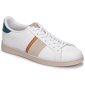 Παπούτσια Άνδρας Χαμηλά Sneakers Victoria TENIS VEGANA DETALLE Άσπρο