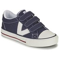 Παπούτσια Αγόρι Χαμηλά Sneakers Victoria TRIBU TIRAS LONA Μπλέ