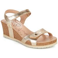 Παπούτσια Γυναίκα Σανδάλια / Πέδιλα Panama Jack JULIA SHINE Gold