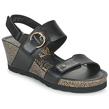 Παπούτσια Γυναίκα Σανδάλια / Πέδιλα Panama Jack VELVET Black