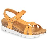 Παπούτσια Γυναίκα Σανδάλια / Πέδιλα Panama Jack SALLY BASICS Yellow