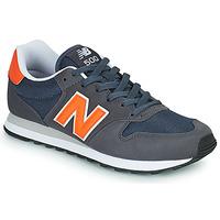 Παπούτσια Άνδρας Χαμηλά Sneakers New Balance 500 Μπλέ / Orange