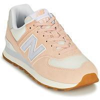 Παπούτσια Γυναίκα Χαμηλά Sneakers New Balance 574 Ροζ / Μπλέ