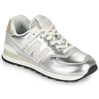 Παπούτσια Γυναίκα Χαμηλά Sneakers New Balance 574 Silver