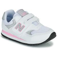 Παπούτσια Κορίτσι Χαμηλά Sneakers New Balance 393 Άσπρο / Ροζ
