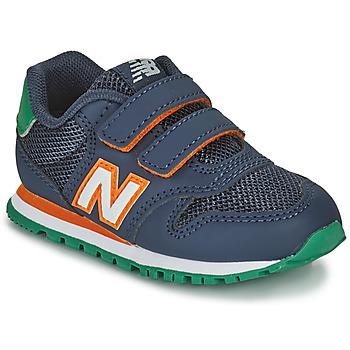 Παπούτσια Αγόρι Χαμηλά Sneakers New Balance 500 Μπλέ / Orange