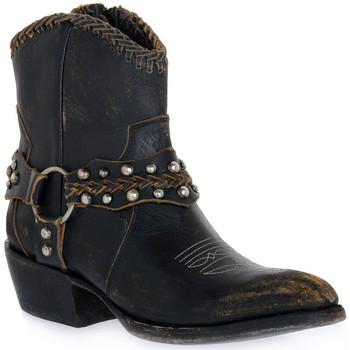 Παπούτσια Γυναίκα Μποτίνια Mezcalero DANIA STONE MOKA Beige