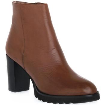 Παπούτσια Γυναίκα Μποτίνια Priv Lab 906 CUOIO Marrone