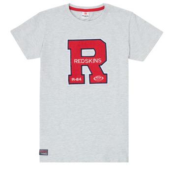 Υφασμάτινα Αγόρι T-shirt με κοντά μανίκια Redskins TSMC180161-BLENDED-GREY Grey