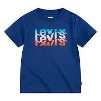 Υφασμάτινα Αγόρι T-shirt με κοντά μανίκια Levi's 9EC826-U29 Marine