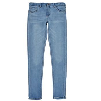 Υφασμάτινα Κορίτσι Skinny jeans Levi's 710 SUPER SKINNY Μπλέ