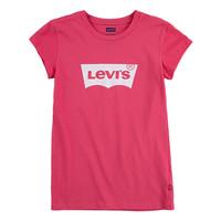 Υφασμάτινα Κορίτσι T-shirt με κοντά μανίκια Levi's BATWING TEE SS Ροζ
