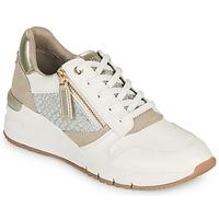 Παπούτσια Γυναίκα Χαμηλά Sneakers Tamaris REA Άσπρο / Gold