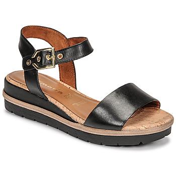 Παπούτσια Γυναίκα Σανδάλια / Πέδιλα Tamaris EDA Black