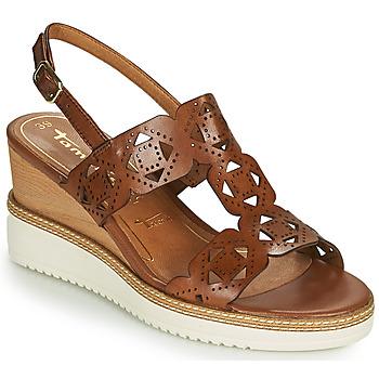 Παπούτσια Γυναίκα Σανδάλια / Πέδιλα Tamaris ALIS Cognac