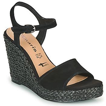 Παπούτσια Γυναίκα Σανδάλια / Πέδιλα Tamaris CYNARA Black