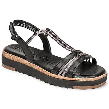 Παπούτσια Γυναίκα Σανδάλια / Πέδιλα Tamaris BENNA Black