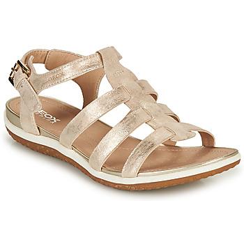Παπούτσια Γυναίκα Σανδάλια / Πέδιλα Geox D SANDAL VEGA A Gold