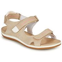 Παπούτσια Γυναίκα Σανδάλια / Πέδιλα Geox D SANDAL VEGA A Beige
