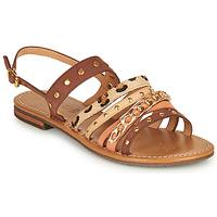 Παπούτσια Γυναίκα Σανδάλια / Πέδιλα Geox D SOZY S I Brown / Beige